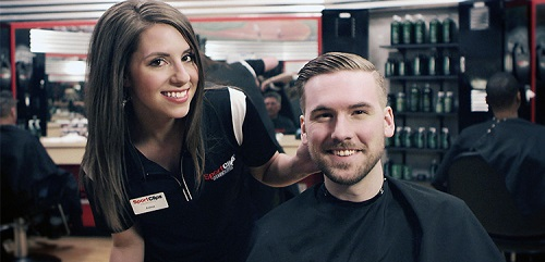 Sport Clips Haircuts of Surprise Village Marketplace​ stylist hair cut